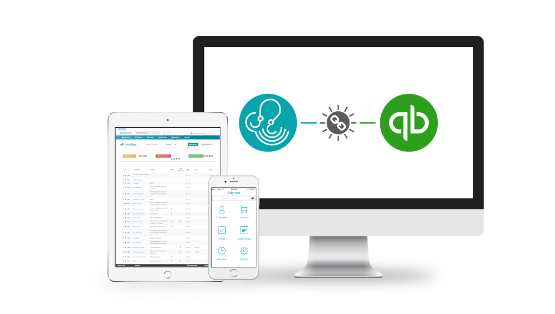 Release Update 11/8/17: Syncro Integration with Quickbooks Online is Now Available