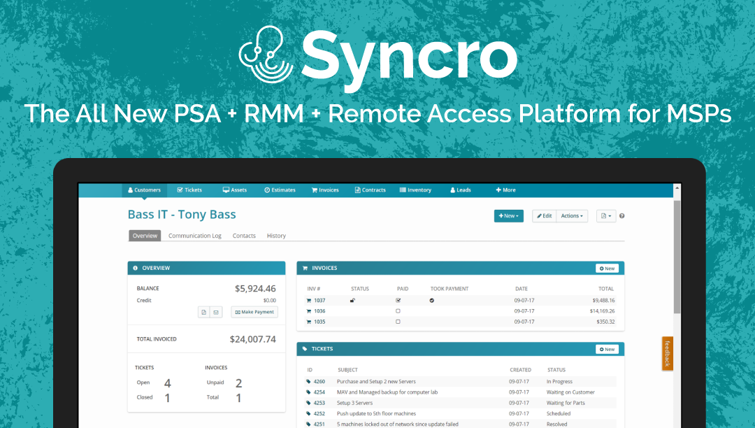 Syncro is Launching Today with Some Huge New Features