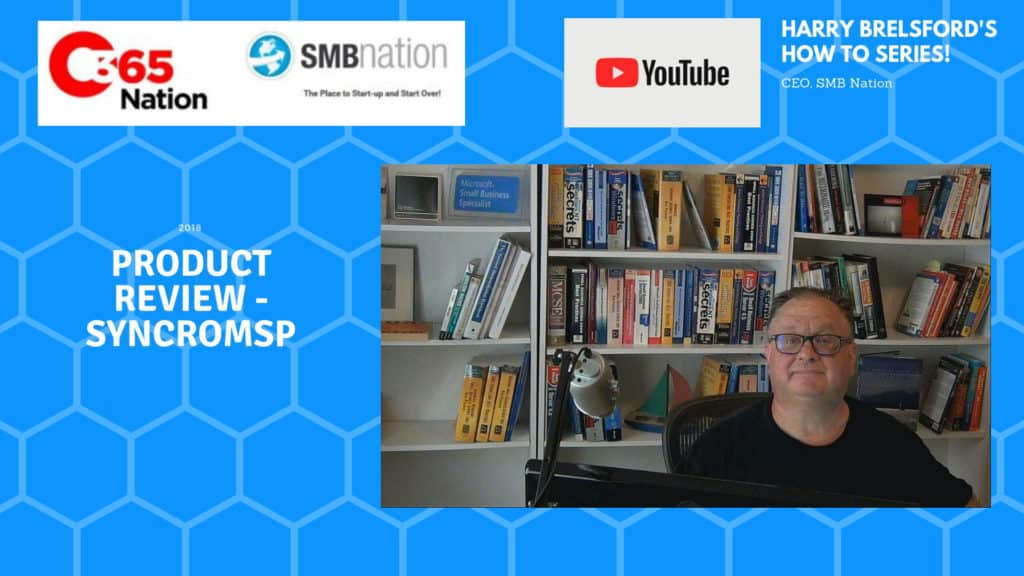 SMB nation product review of SyncroMSP
